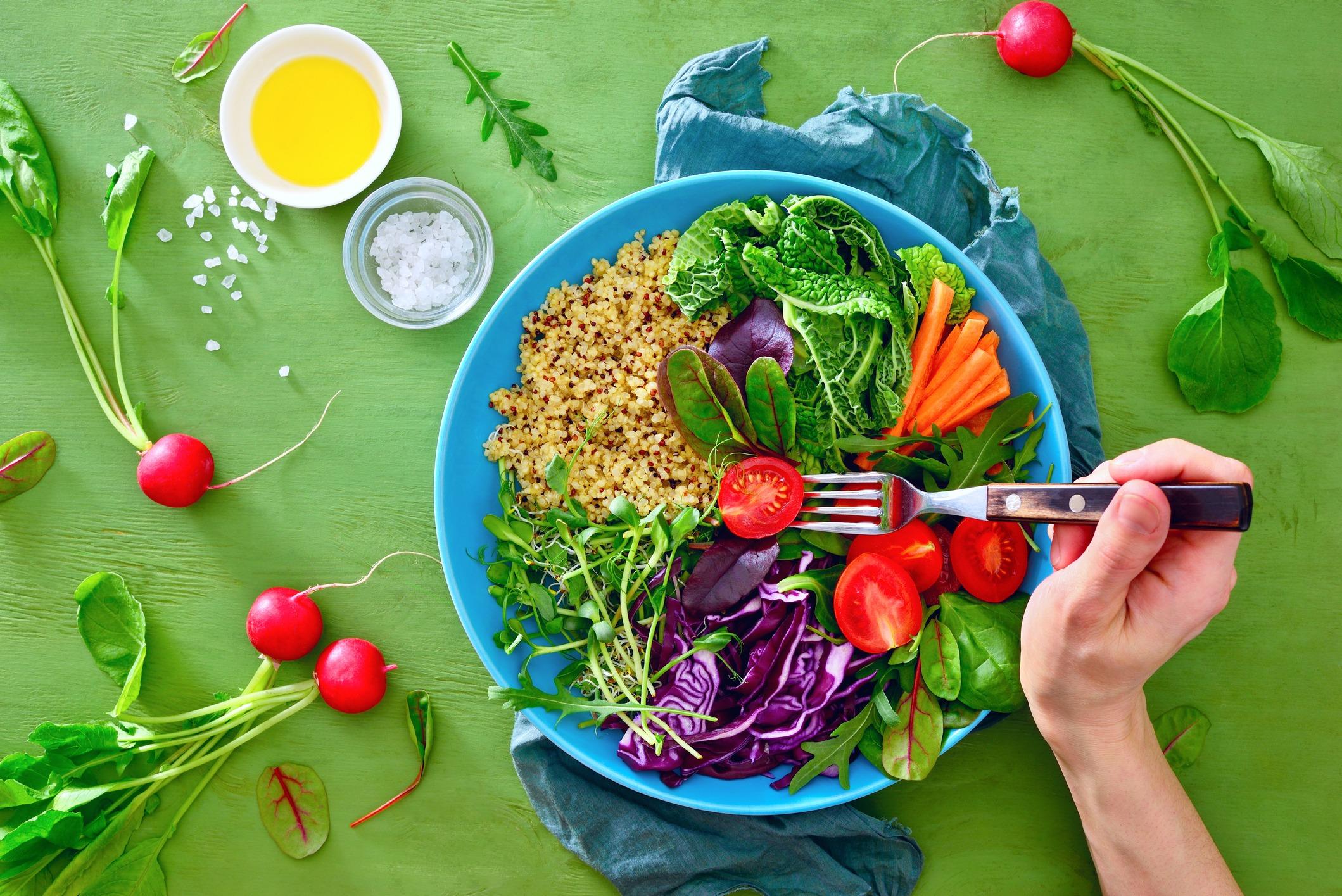 Los veganos no están más sanos que los que apuestan por la dieta mediterránea